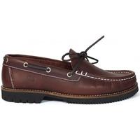 Sapatos Homem Sapato de vela Fluchos ZAPATOS NÁUTICOS  156 BURDEOS Rojo