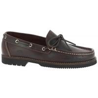 Sapatos Homem Sapato de vela Fluchos Zapatos Náuticos  156 Marrón Castanho
