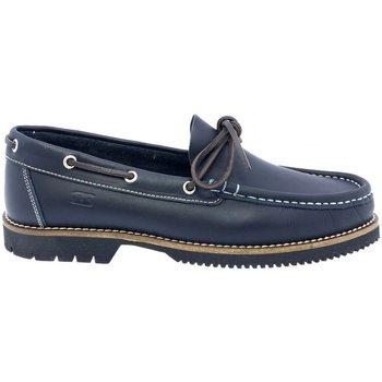 Sapatos Homem Sapato de vela Fluchos ZAPATOS NÁUTICOS  156 MARINO bleu