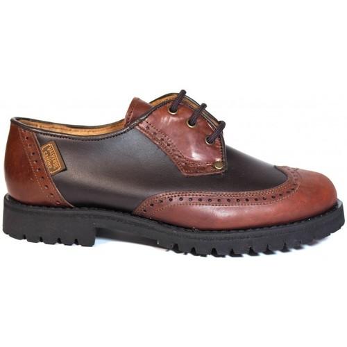 Sapatos Homem Sapatos Valverde Del Camino ZAPATOS  24-03 CASTAÑA Marron