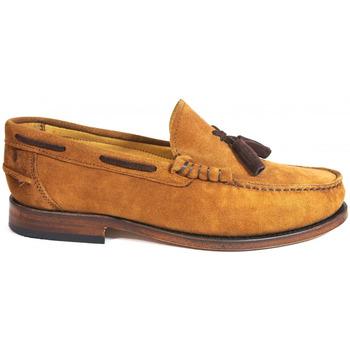 Sapatos Homem Sapato de vela La Valenciana Zapatos  2011 Camel Castanho