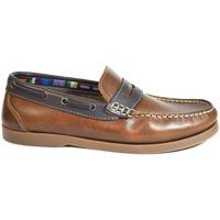 Sapatos Homem Sapato de vela La Valenciana Zapatos  1694 Cuero Castanho
