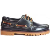 Sapatos Homem Sapato de vela La Valenciana ZAPATOS  848 MARINO bleu