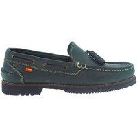 Sapatos Homem Sapato de vela La Valenciana Zapatos Apache  Montijo Verde Verde