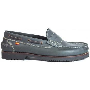 Sapatos Homem Sapato de vela La Valenciana Zapatos Línea Apache Antifaz Marino Azul