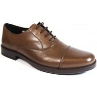 Sapatos Homem Sapatos La Valenciana Zapatos  2180 Marrón Castanho