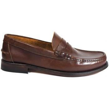 Sapatos Homem Mocassins La Valenciana Zapatos  2402 Beirao Castanho