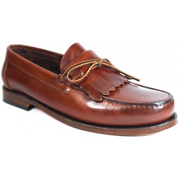 Sapatos Homem Mocassins La Valenciana Zapatos  2508 Pull Beirao Castanho