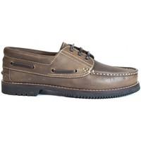 Sapatos Sapato de vela La Valenciana Zapatos Línea Apache Cordón Marrón Castanho