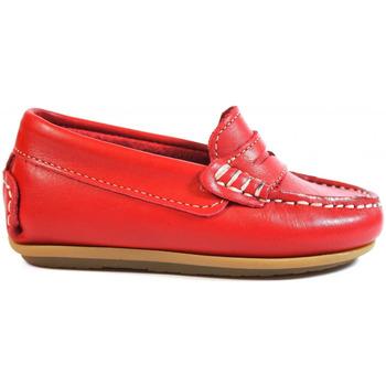 Sapatos Criança Mocassins La Valenciana Zapatos Niños  1017 Rojo Vermelho