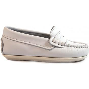 Sapatos Criança Mocassins La Valenciana Zapatos Niños  1017 Blanco Branco