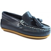 Sapatos Criança Mocassins La Valenciana Zapatos Niños  1014 Marino Azul