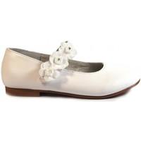 Sapatos Rapariga Sabrinas Bubble Bobble Merceditas Comunión  A1849 Blanco Branco