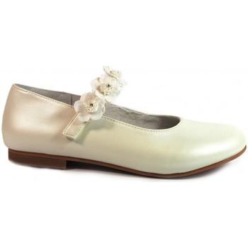 Sapatos Rapariga Sabrinas Bubble Bobble Merceditas Comunión  A1849 Beig Bege