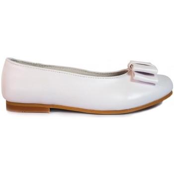 Sapatos Rapariga Sabrinas Bubble Bobble Manoletinas Niña  A580 Blanco Branco
