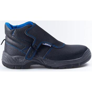 Sapatos Botas baixas Anibal BOTAS SEGURIDAD  VULCANO Noir