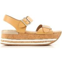 Sapatos Mulher Sandálias Hogan HXW3540AA40D0WC611 beige