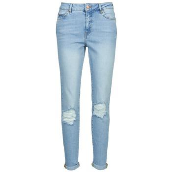 Textil Mulher Calças de ganga slim Noisy May KIM Azul / Claro