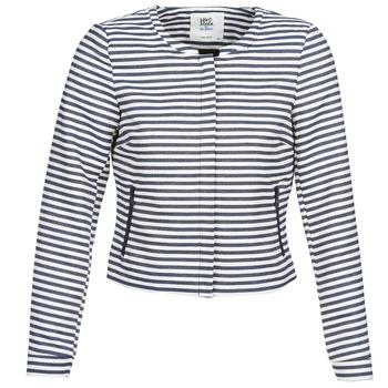 Textil Mulher Casacos/Blazers Vero Moda MALTA Marinho / Branco