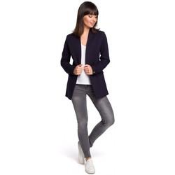 Textil Mulher Casacos/Blazers Be B102 Blazer azul-marinho - azul-marinho