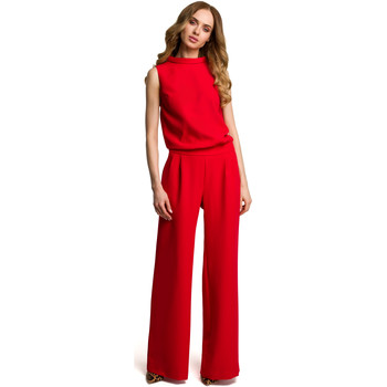 Textil Mulher Macacões/ Jardineiras Style S140 Blazer à medida com fechos de correr - bege