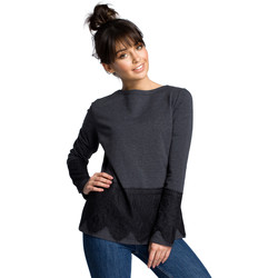 Textil Mulher Sweats Moe M411 7/8 Joggers - ecru