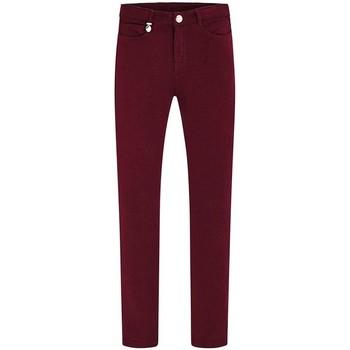 Textil Rapariga Calças Mayoral Pantalon  Felpa Granate vermelho