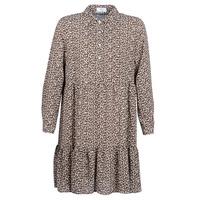 Textil Mulher Vestidos curtos Betty London JECREHOU Bege / Castanho