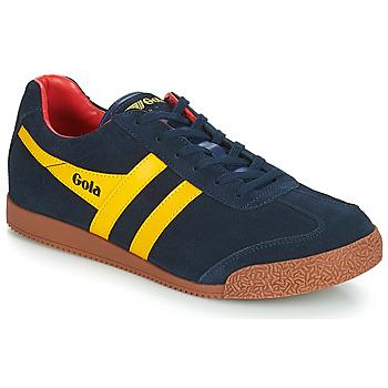 Sapatos Homem Sapatilhas Gola HARRIER Azul / Amarelo