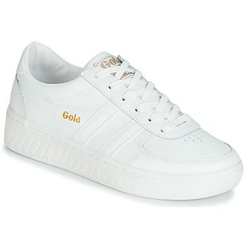 Sapatos Mulher Sapatilhas Gola GRANDSLAM LEATHER Branco