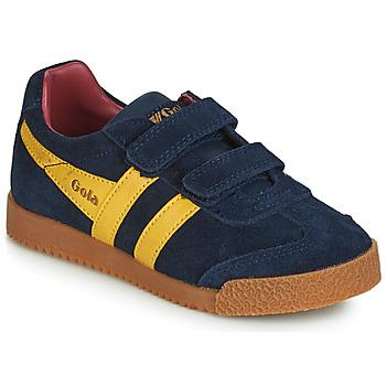 Sapatos Criança Sapatilhas Gola HARRIER VELCRO Azul