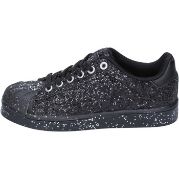 Sapatos Rapariga Sapatilhas Solo Soprani Sneakers BT294 Preto