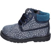 Sapatos Rapariga Botins Asso BT297 Azul