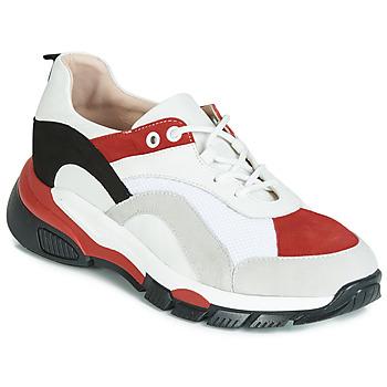 Sapatos Mulher Sapatilhas Tosca Blu KELLY Branco / Vermelho