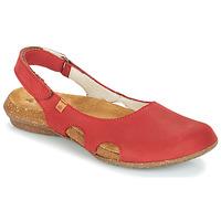 Sapatos Mulher Sandálias El Naturalista WAKATAUA Vermelho