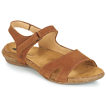 Sapatos Mulher Sandálias El Naturalista WAKATAUA Castanho