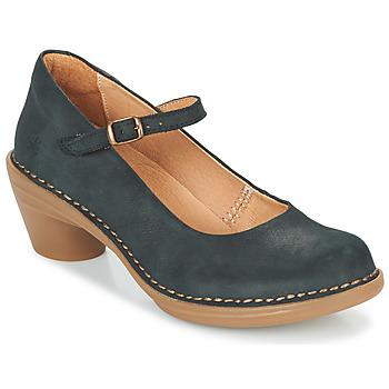 Sapatos Mulher Escarpim El Naturalista AQUA Preto