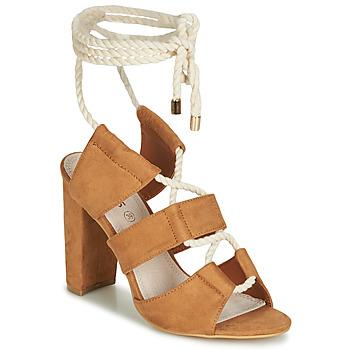 Sapatos Mulher Sandálias Cassis Côte d'Azur DON Castanho