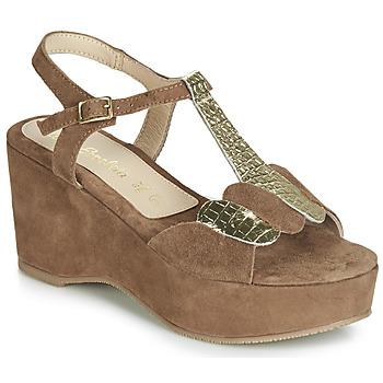 Sapatos Mulher Sandálias Lola Espeleta NAWELLE Castanho