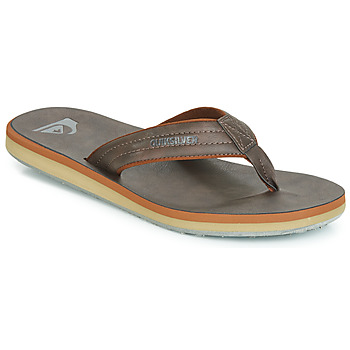 Sapatos Homem Chinelos Quiksilver CARVER NUBUCK M SNDL CTK1 Castanho