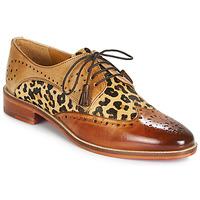 Sapatos Mulher Sapatos Melvin & Hamilton BETTY-4 Castanho / Leopardo