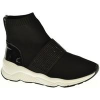 Sapatos Mulher Sapatilhas de cano-alto D'angela DBD13298 Negro