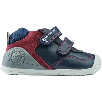 Sapatos Rapaz Botas baixas Biomecanics S DE FECHAMENTO DUPLO  181147 AZUL