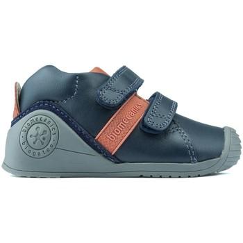 Sapatos Rapaz Botas baixas Biomecanics BOOTS  181148 AZUL