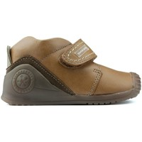 Sapatos Rapaz Botas baixas Biomecanics S BIOMECÂNICAS BIOGATEO 161147 BROWN
