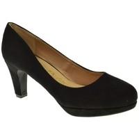 Sapatos Mulher Escarpim Stay 83152 Negro