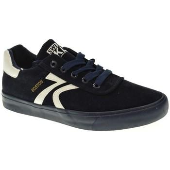 Sapatos Mulher Sapatilhas Sweden Kle 601029 azul