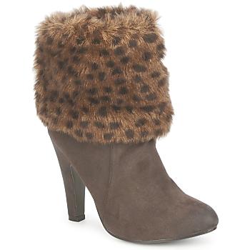Sapatos Mulher Botins StylistClick JOYCE Castanho