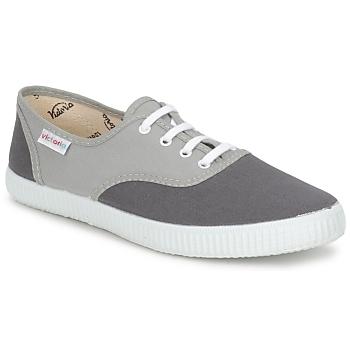 Sapatos Sapatilhas Victoria INGLESA BICOLOR Cinza