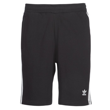 Textil Homem Shorts / Bermudas adidas Originals 3 STRIPE SHORT Preto